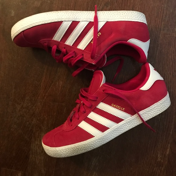 f32cb0f7f adidas Shoes - Unisex Adidas Gazelle size 5 men  7.5 women. Pink